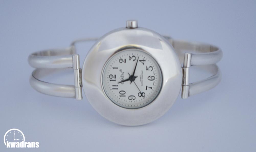 srebrny zegarek osin