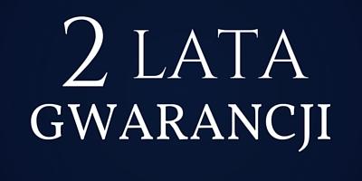 2 lata gwarancji - zegar stojący