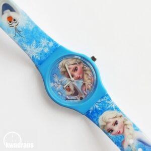 zegarek z elsą - kraina lodu