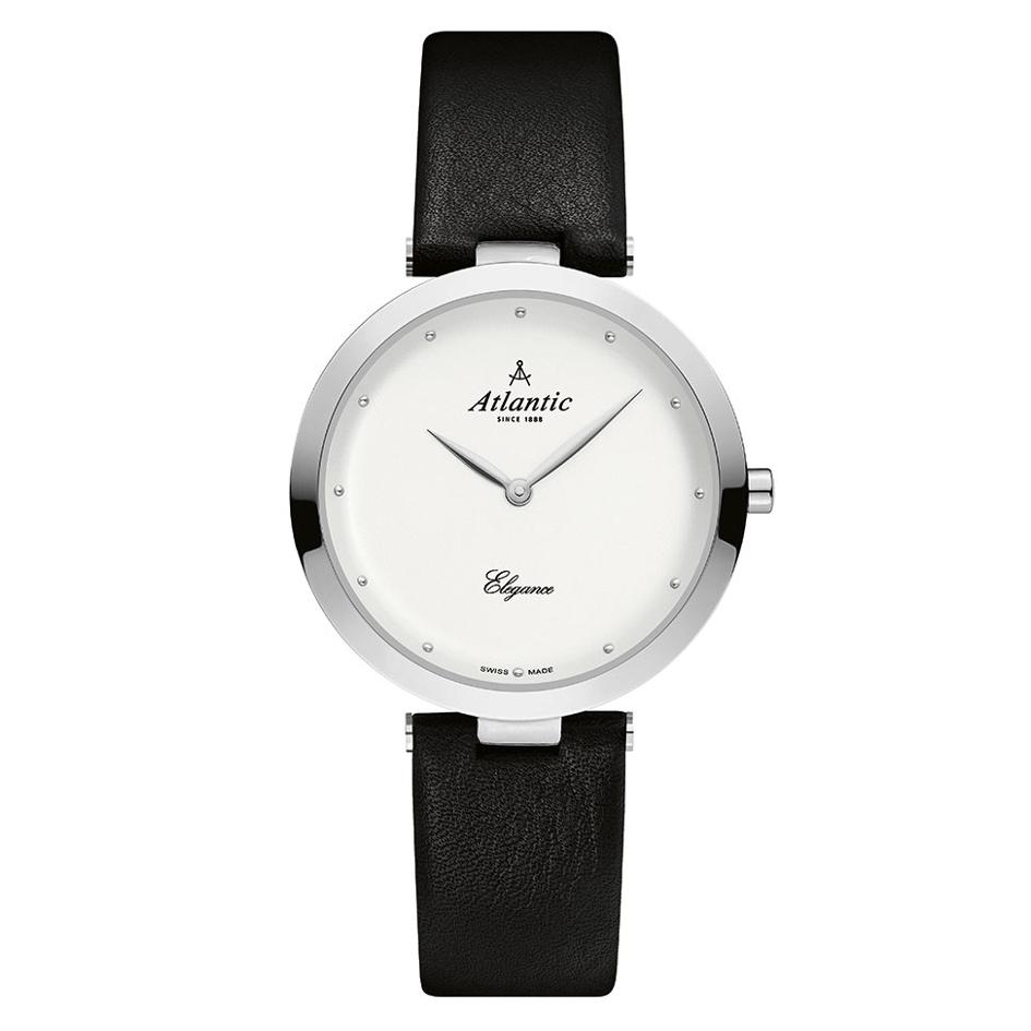 c391ae07cd362a Atlantic Elegance 29036.41.21L - szwajcarski zegarek damski Atlantic