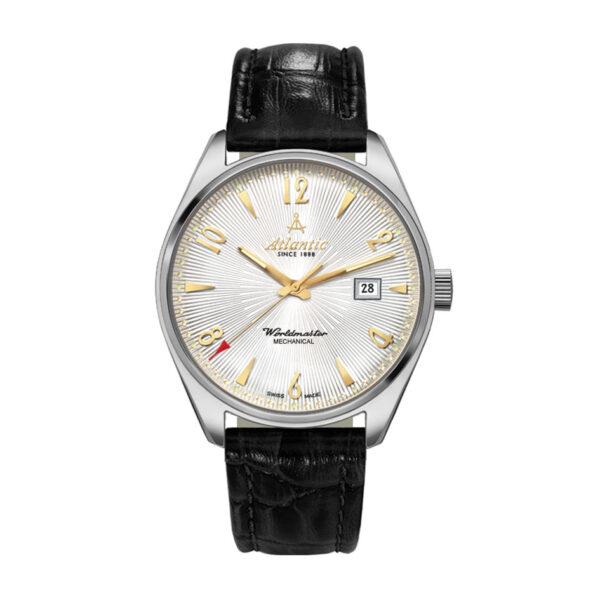 zegarek mechaniczny atlantic z ręcznym naciągiem