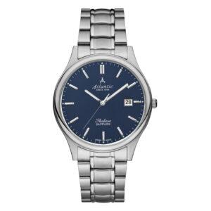zegarek szwajcarski atlantic na bransolecie