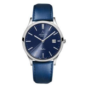 atlantic męski zegarek szwajcarski