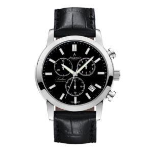 męski zegarek szwajcarski atlantic