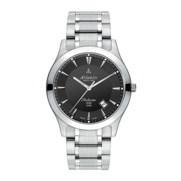 męski zegarek wodoszczelny atlantic