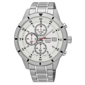zegarek męski seiko bransoleta Seiko SKS557P1 Chronograph