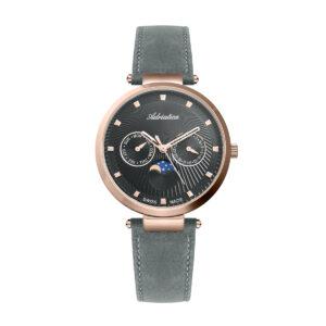 zegarek szwajcarski Adriatica damski pasek skórzany