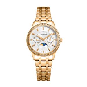 Zegarek damski złoty Adriatica A3601.1113QFZ szwajcarski autoryzowany sklep