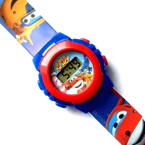 Zegarek naręczny LCD - Super Wings