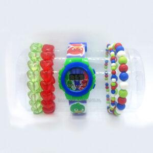 Zegarek naręczny - Pidżamersi + dodatkowe bransoletki