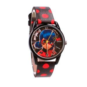 Zegarek Miraculous + pudełko - Biedronka i Czarny Kot