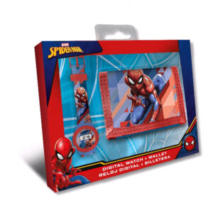 Zegarek Spiderman + Portfel
