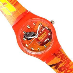 Zegarek naręczny - Auta czerwony(Cars)