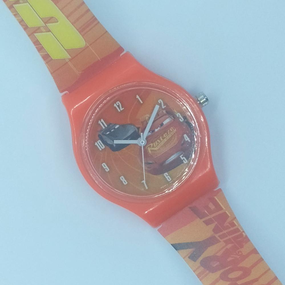 Zegarek naręczny – Auta czerwony(Cars)