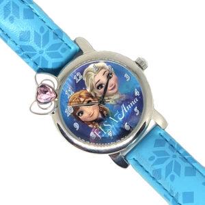 Zegarek - Frozen Elsa i Anna + pudełko