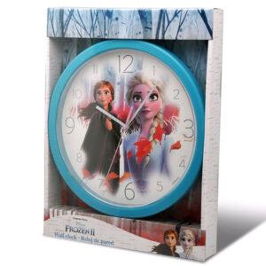 Zegar ścienny Frozen II - Elsa i Anna