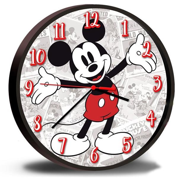 Zegar ścienny Myszka Miki