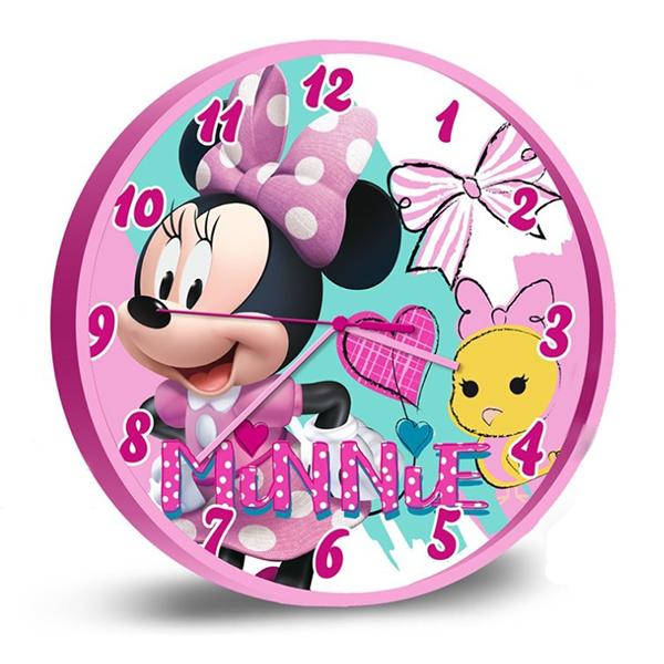 Zegar ścienny Myszka Minnie