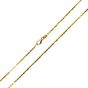 Łańcuszek złoty ankier 585