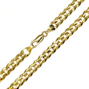 Łańcuszek złoty pancerka 585