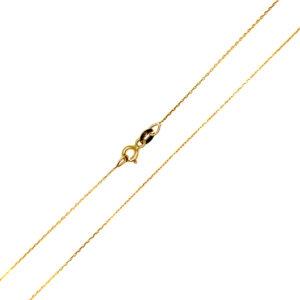 Łańcuszek złoty ankier pełny 585 45cm