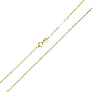 Łańcuszek złoty ankier pełny 585 50cm