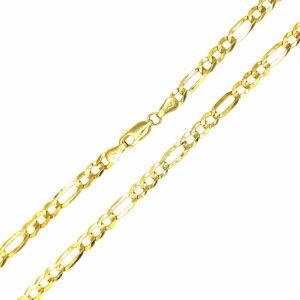 Łańcuszek złoty figaro pełny 585 50cm