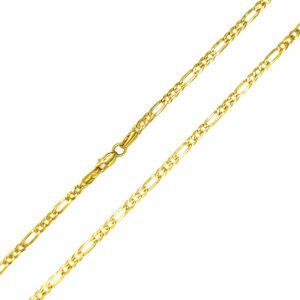 Łańcuszek złoty figaro pełny 585 60cm
