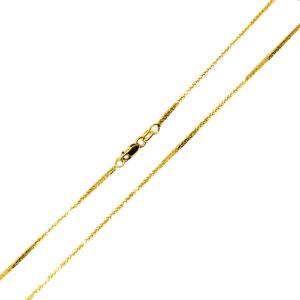 Łańcuszek złoty lisi ogon pełny 585 45cm
