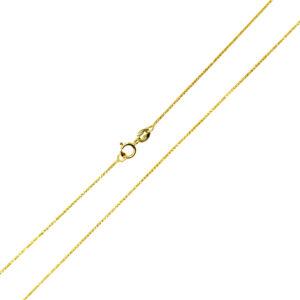 Łańcuszek złoty lisi ogon pełny 585 50cm