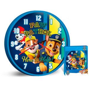 Zegar ścienny Psi Patrol Paw Patrol