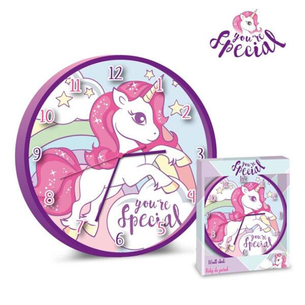 Zegar ścienny Jednorożec Unicorn