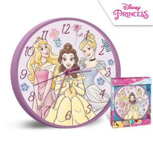 Zegar ścienny Księżniczki - Princess