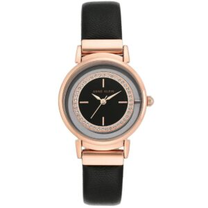 Zegarek damski Anne Klein AK-3720RGBK Leather
