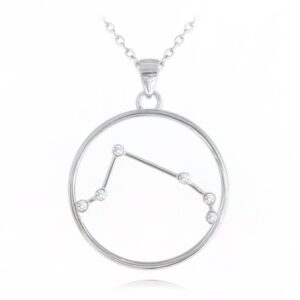 Srebrny naszyjnik BARAN MINET Stars Znak Zodiaku JMAS9504SN45