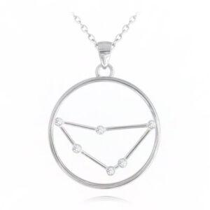 Srebrny naszyjnik KOZIOROŻEC MINET Stars Znak zodiaku JMAS9501SN45