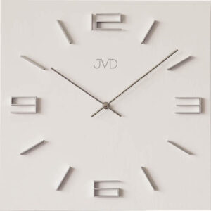 Zegar ścienny Biały JVD HC28.1