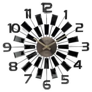 Zegar ścienny Czarny JVD HT100.4