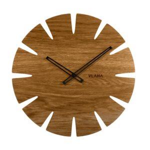 Zegar ścienny Dębowy VLAHA VCT1032
