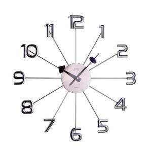 Zegar ścienny Grafitowy JVD HT072.1