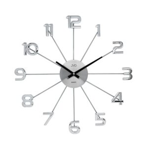 Zegar ścienny Srebrny JVD HT072