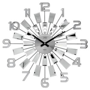 Zegar ścienny Srebrny JVD HT100.3