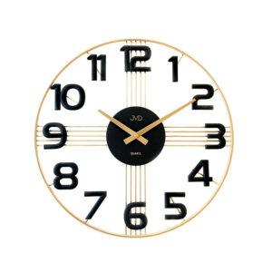 Zegar ścienny Złoty JVD HT051.3