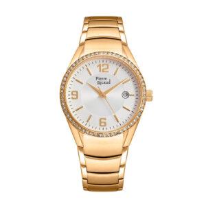 Pierre Ricaud P21032.1153QZ Zegarek damski złoty bransoleta