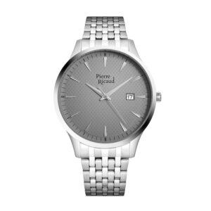 Pierre Ricaud P91037.5117Q Zegarek męski bransoleta srebrny