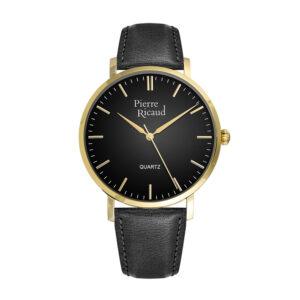 Pierre Ricaud P91074.1214Q Zegarek męski czarny