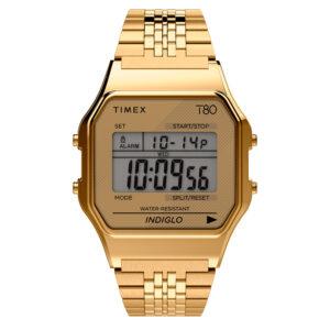 Timex T80 TW2R79200 Zegarek cyfrowy unisex