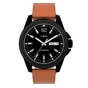 Timex TW2U15100 Essex Avenue Zegarek męski czarna tarcza