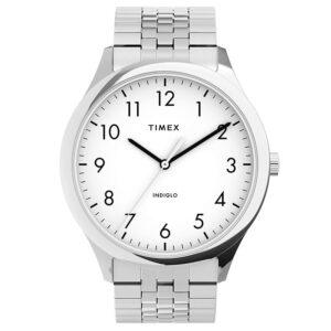 Timex TW2U39900 Easy Reader Zegarek męski rozciągana bransoleta