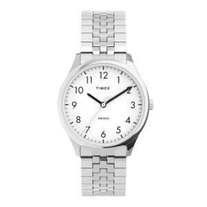 Timex TW2U40300 Easy Reader Zegarek-damski rozciągana bransoletka